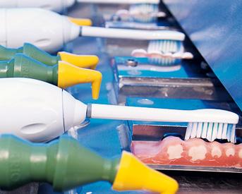 Насадка к электрической зубной щетке braun