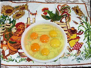 Тест куриных яиц.