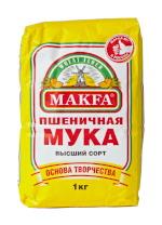 MAKFA. Мука пшеничная хлебопекарная, высший сорт
